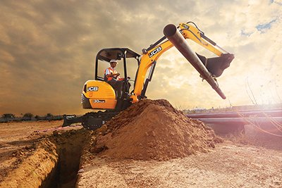 JCB Tracked Excavators Price India